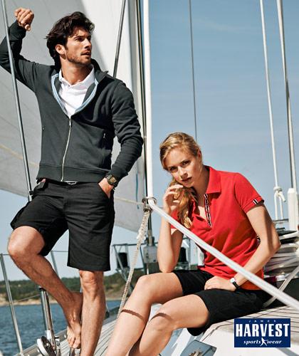 James Harvest Sportswear Cotton Polo-Avon