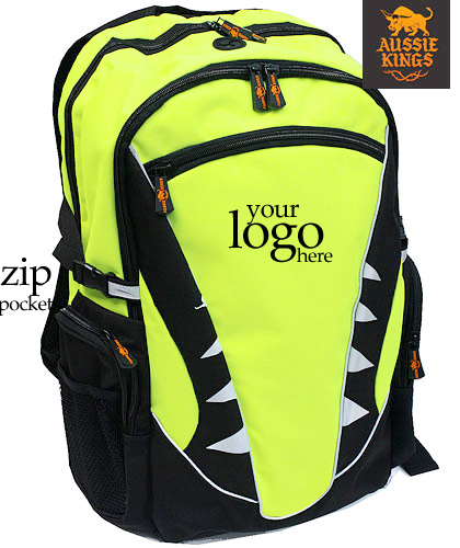 Hi Vis Back Packs for Travel, Clubs and Schools