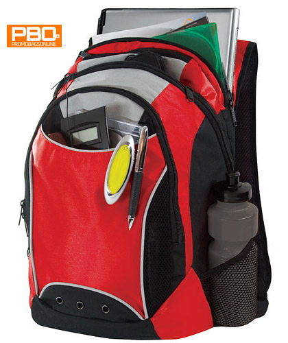 PBO Elevation Corporate Back Pack with Fleece Lined Laptop Pouch