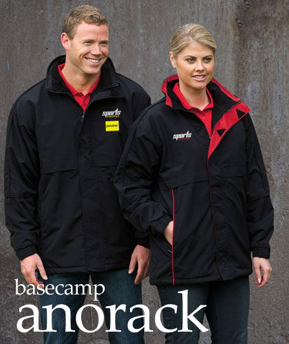 Basecamp Anorack Jackets in Club Colours