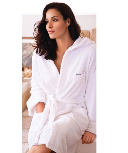 Bath Robes with embroidered logo service