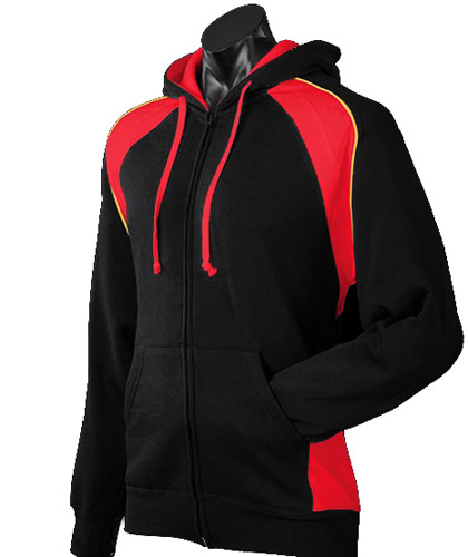 Black Red and Gold Hoodies