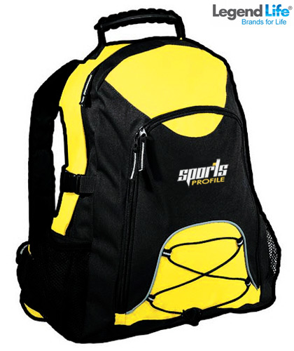 Students Black and Gold Backpacks