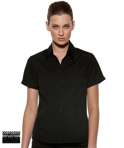 Black Short Sleeve Shirts- The Climate Smart Collection