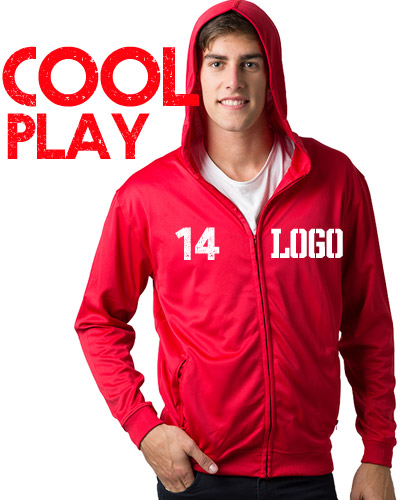 Cool Play Hoodies for are Light for Summer Sport Uniforms