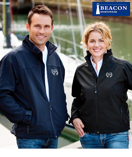 Corporate Soft Shell Jackets with Logo Service by Beacon Sportswear