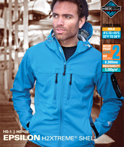 Stormtech Epsilon Jacket with Logo Service available in 10 Team Colours