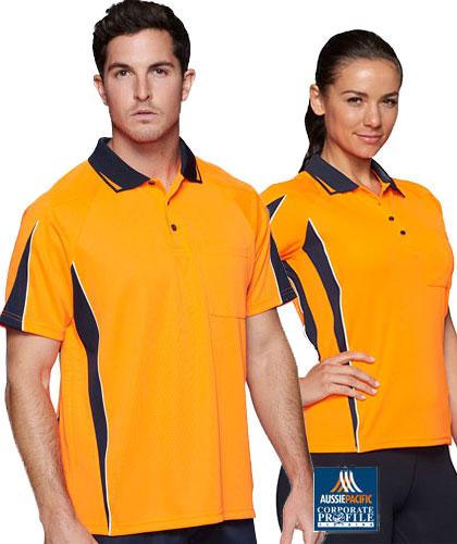 Eureka Hi Vis Polo Shirts