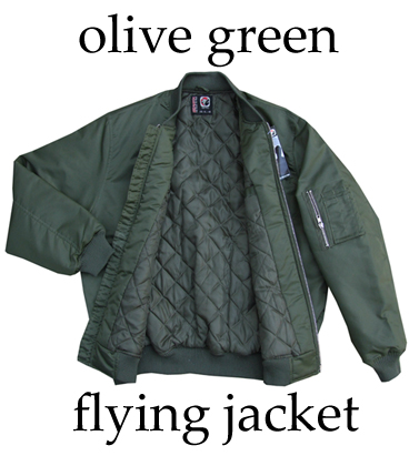 Green Flying Jackets