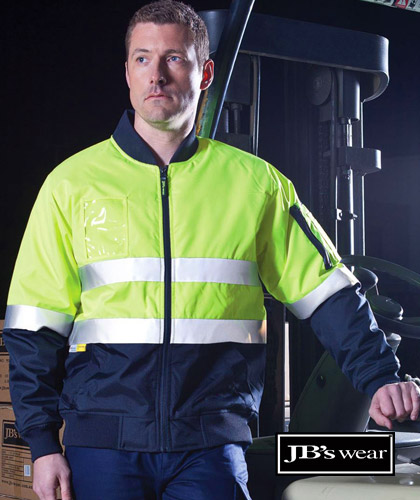 JB's Hi-Vis Flying Jackets-Australian Standards with 3M Reflective Tape