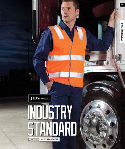 Transport Industry: Hi Vis Safety Vests with Reflective Tape