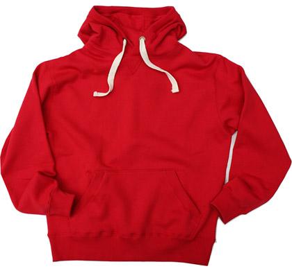 Thick Chunkyweight 370G Hoodies-RED