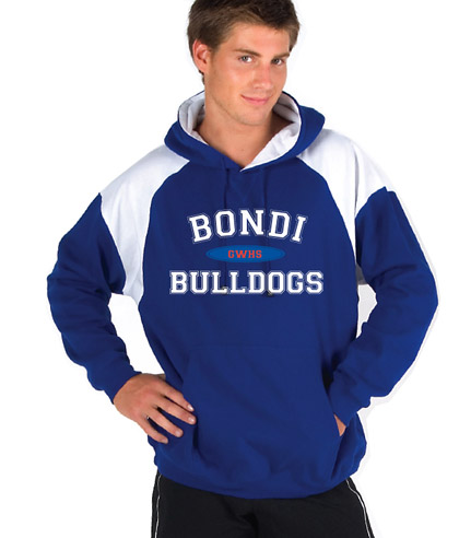 Hoodie with Shoulder Panels