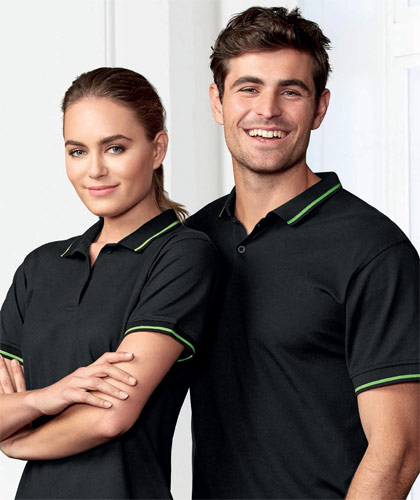 Biz Collection-Jet Polo Shirts With Logo Service