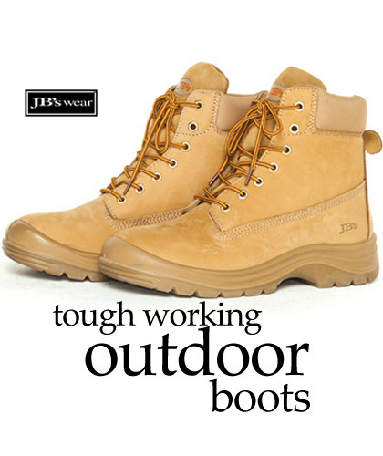 Outdoor Work Boots for Heavy Duty Work Environments-Camel