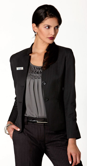 Short Jackets with Reverse Lapel