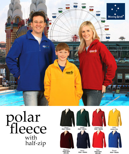 Good Quality Polar Fleece Jumpers with Half Zip front
