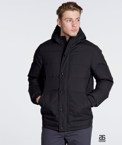 Mens Corporate Puffer Jackets with Logo Service