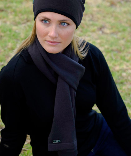 Scarf Merino Wool Scarf available in Navy, Black and Charcoal