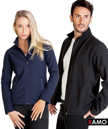 Ramo Soft Shell Jackets with Logo Service