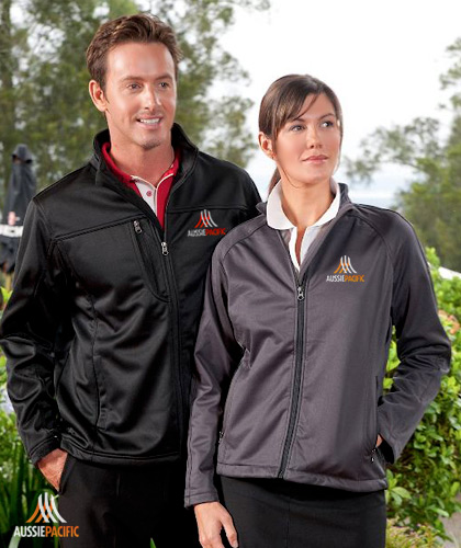 Hot Prices! Charcoal Soft Shell Jackets with Sporty Design