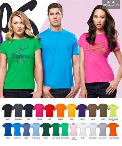 Biz Collection-Cotton T-Shirts-22 Colours