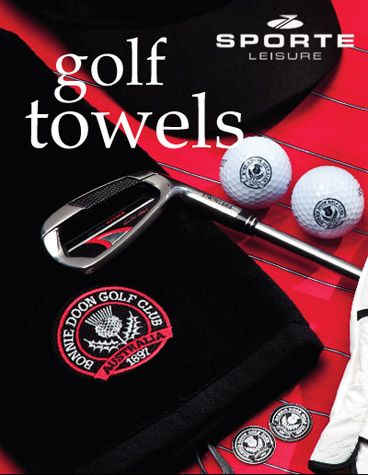 Golf Towels with Custom Logo Embroidery