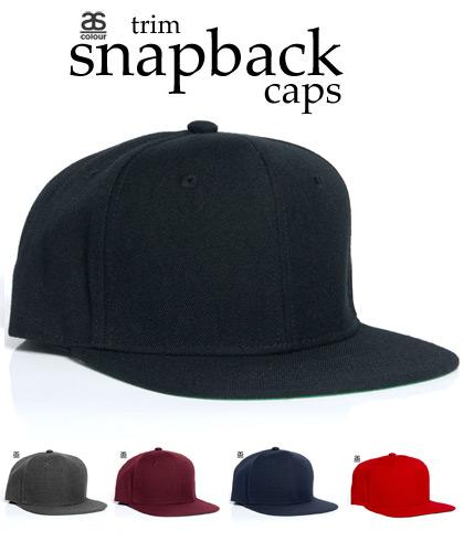 Trim Snapback Caps