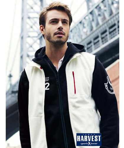 Upmarket Double Face Fleece Vest with Wind Stopping Membrane