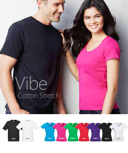 Biz Collection-Vibe Scoop Neck T-Shirts- 7 Colours