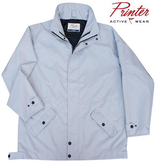 Silver Grey Jackets by Printer Activewear