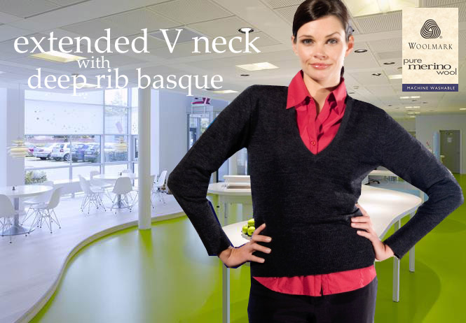 Monday to Friday - Womens Merino Wool Jumpers with Wool Mark