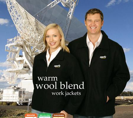 Wool Blend Work Jackets