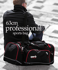 63cm Professional Sports Bags with Heavy Duty Zips and Buckles