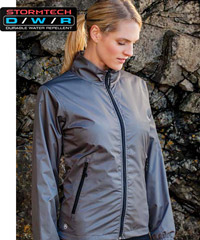 Stormtech Axis Jacket-ultra light, ultra soft, with water repellant rip stop shell-16 Colours