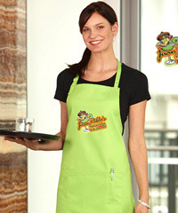 Aprons with print services