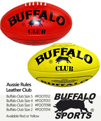 Aussie Rules Footballs-Leather Club #FOOT012 For Clubs and Schools