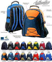 Kids Back Packs in School and Team Colours With Print Service
