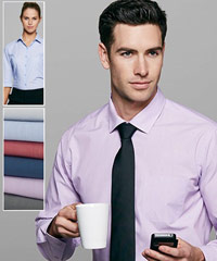 Belair Shirts. Notice the stylish collar- wear with a tie, or smart casual with an open neck.