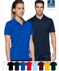 Botany Plain Solid Colour Polo For Staff, Sports and School Uniforms