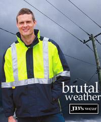JB's Hi-Vis Cold Weather Jacket-Australian Standards with 3M Reflective Tape