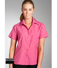 Pink Short Sleeve Shirts- The Climate Smart Collection