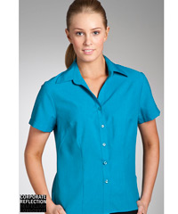 Teal Short Sleeve Shirts- The Climate Smart Collection
