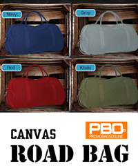 PBO Canvas Road Bag