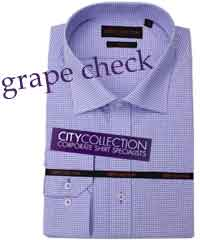 Purple Business Shirts