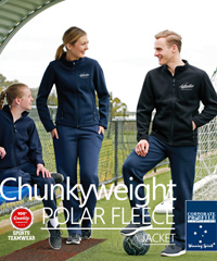 Chunkyweight Polar Fleece Jacket #PF07 With Full Zip