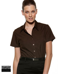 Chocolate Short Sleeve Shirts- The Climate Smart Collection