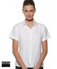 White Short Sleeve Shirts- The Climate Smart Collection