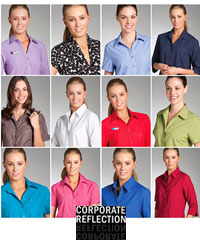 Uniform Climate Smart Shirts in 17 colours. Short Sleeve and 3/4 Sleeve