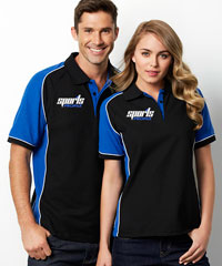 Nitro Black and Royal Polo Shirts